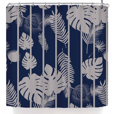 Shirlei Patricia Muniz Leaf Shower Curtain