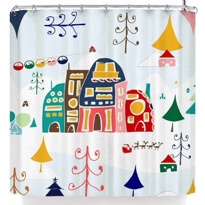 Bruxamagica Winter Land Shower Curtain