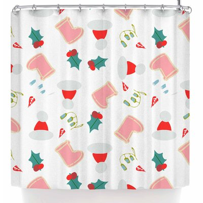 Bruxamagica Santa�S Hat and Boots Shower Curtain