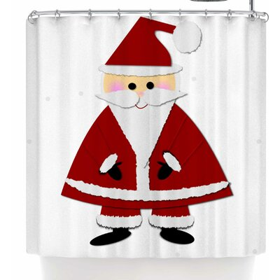 Bruxamagica Santa Claus Shower Curtain