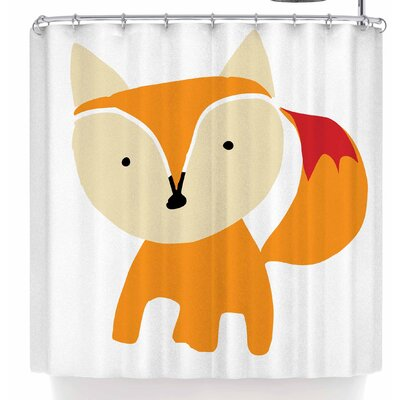Bruxamagica Cute Fox Shower Curtain