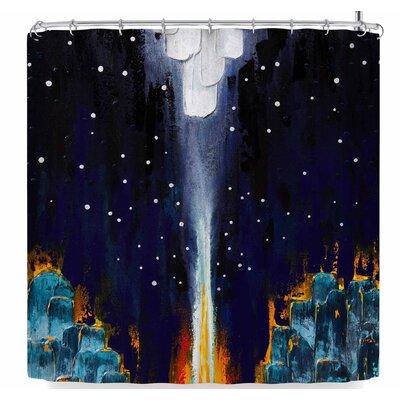 Steven Dix Retro Shower Curtain