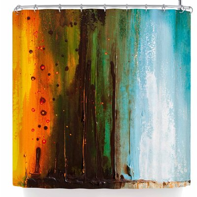 Steven Dix Kinds of Tranquil Shower Curtain