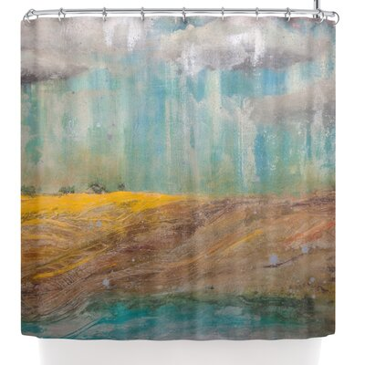 Steven Dix Silent Meadow Shower Curtain