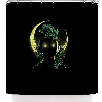 BarmalisiRTB Mystery Woman Shower Curtain