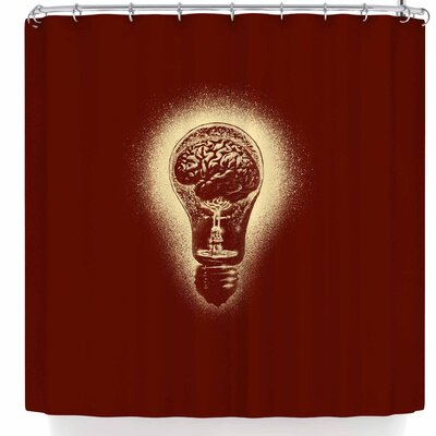 BarmalisiRTB Brain Stun Shower Curtain