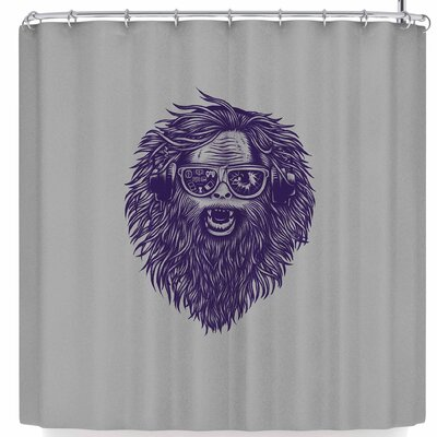BarmalisiRTB Nerds Rule Shower Curtain
