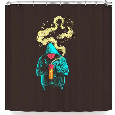 BarmalisiRTB Illusion Shower Curtain