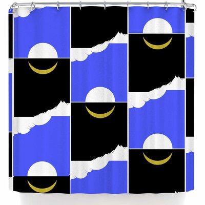 BarmalisiRTB The Sun and Moon Shower Curtain