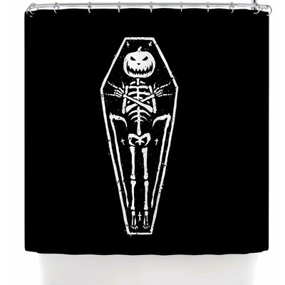 BarmalisiRTB Dead Halloween Shower Curtain