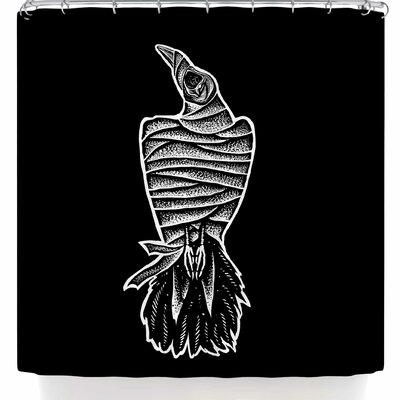 BarmalisiRTB Mummy Crow Shower Curtain