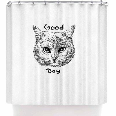 BarmalisiRTB Good Day Shower Curtain