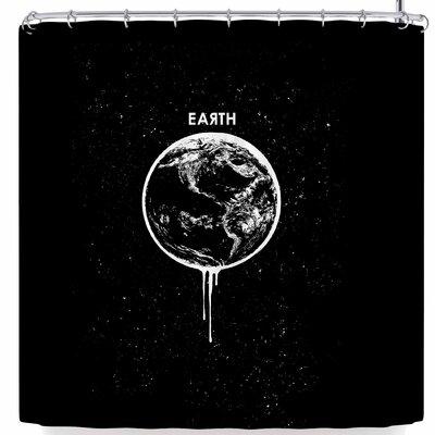 BarmalisiRTB Melting Earth Shower Curtain