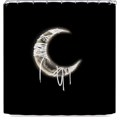 BarmalisiRTB Mummy Moon Shower Curtain
