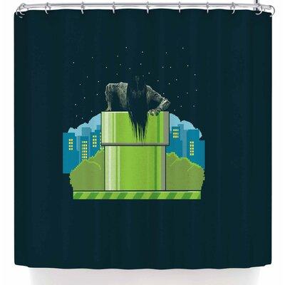BarmalisiRTB The Wrong Hole Shower Curtain