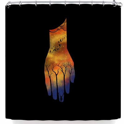 BarmalisiRTB Natural Hand Shower Curtain