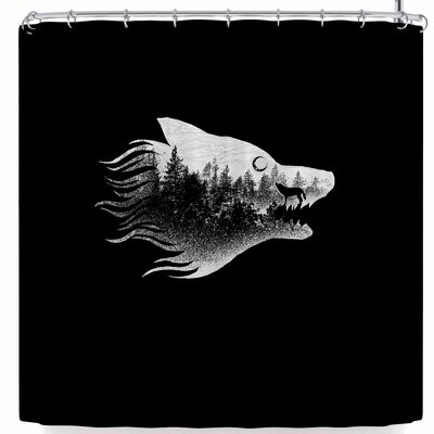 BarmalisiRTB The Wolf Shower Curtain