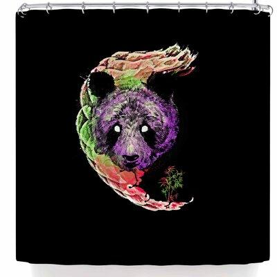 BarmalisiRTB Panda Head Shower Curtain