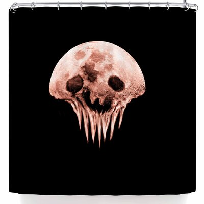 BarmalisiRTB Monster Moon Shower Curtain