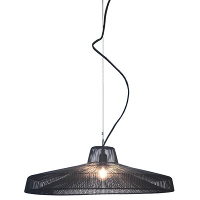 Schema Moire Worker 1-Light Inverted Pendant