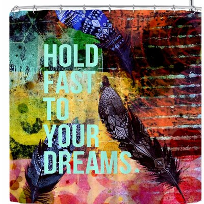 Alyzen Moonshadow Hold Fast To Your Dreams Shower Curtain