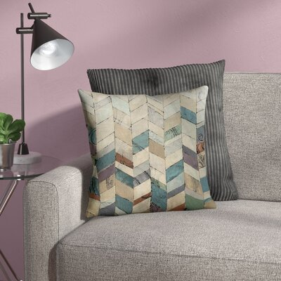 Monro 2 Indoor/Outdoor Throw Pillow Size: 16 H x 16 W x 4 D