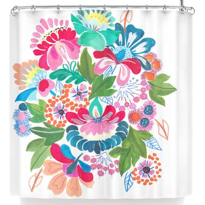Agnes Schugardt Bouquet Shower Curtain