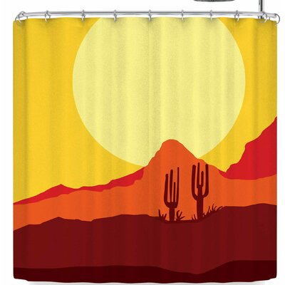Bruce Stanfield Mojave Desert Shower Curtain