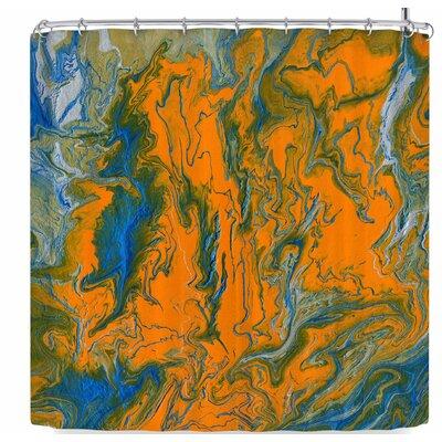 Bruce Stanfield La Carte De La Vie Shower Curtain ETHF9698 45267440