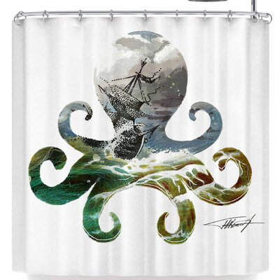 Ivan Joh Octopus Shower Curtain