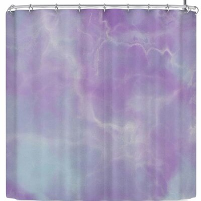 Mermaid Marble Shower Curtain