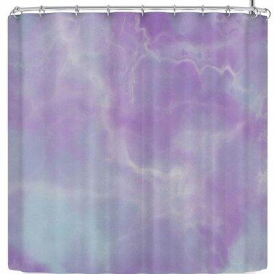 Mermaid Marble Shower Curtain