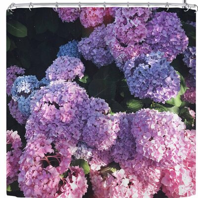 Hydrangea Ombre Shower Curtain
