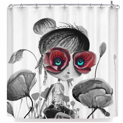 Ivan Joh Princess of Flowers Shower Curtain