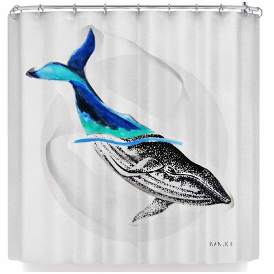 Ivan Joh Whale Shower Curtain