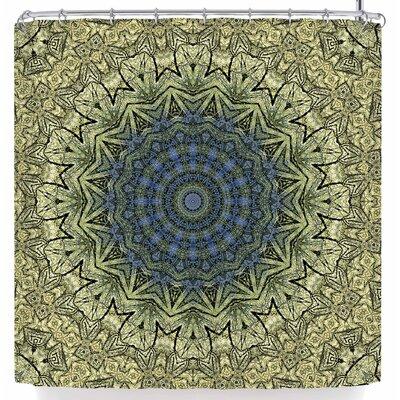Iris Lehnhardt Mandala Shower Curtain