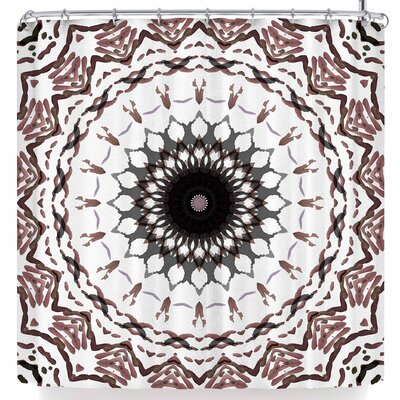 Iris Lehnhardt Water Color Mandala 5 Shower Curtain