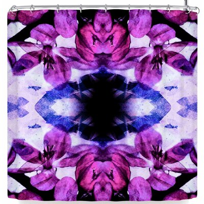Iris Lehnhardt Boho Floral Shower Curtain