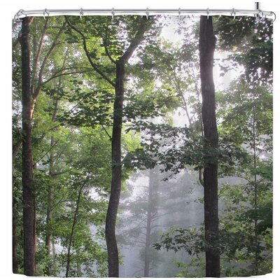 Rosie Brown Morning Fog Shower Curtain