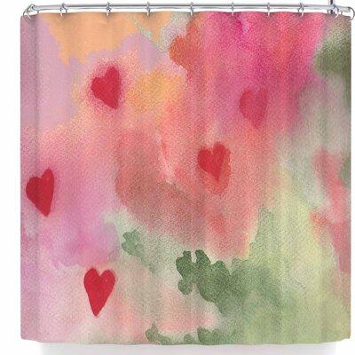 Rosie Brown All My Loving Shower Curtain