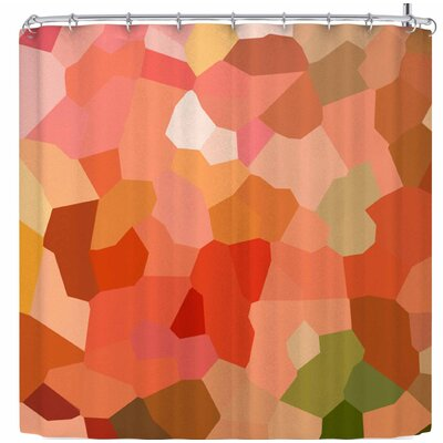 Rosie Brown Tumbled Pebbles Shower Curtain