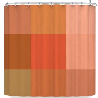Rosie Brown Pleasing Plaids Shower Curtain