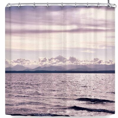 Robin Dickinson On The Other Side Mountains Shower Curtain