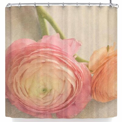 Robin Dickinson Pretty Pastel Shower Curtain