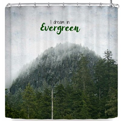 Robin Dickinson I Dream In Evergreen Shower Curtain