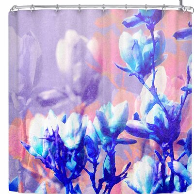 Iris Lehnhardt Floral Abstraction 6 Shower Curtain