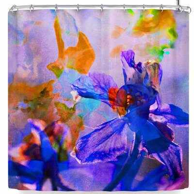 Iris Lehnhardt Floral Abstraction 5 Shower Curtain