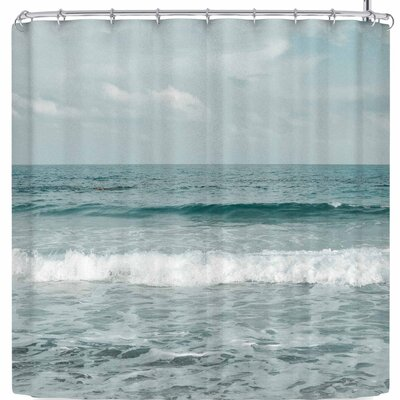 Iris Lehnhardt Mediterranean Sea Shower Curtain