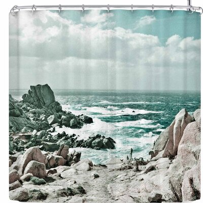 Iris Lehnhardt Capo Testa Shower Curtain