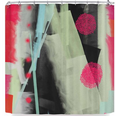 Rosa Picnic Abs-3 Shower Curtain